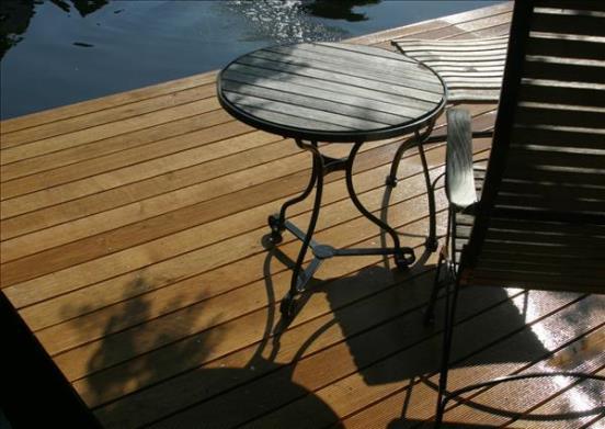 bildergalerie teich holz pur terrassendielen. Black Bedroom Furniture Sets. Home Design Ideas
