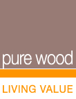 To pure wood home page - Wood products for outdoors